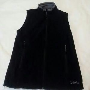 Cabela's fleece vest.